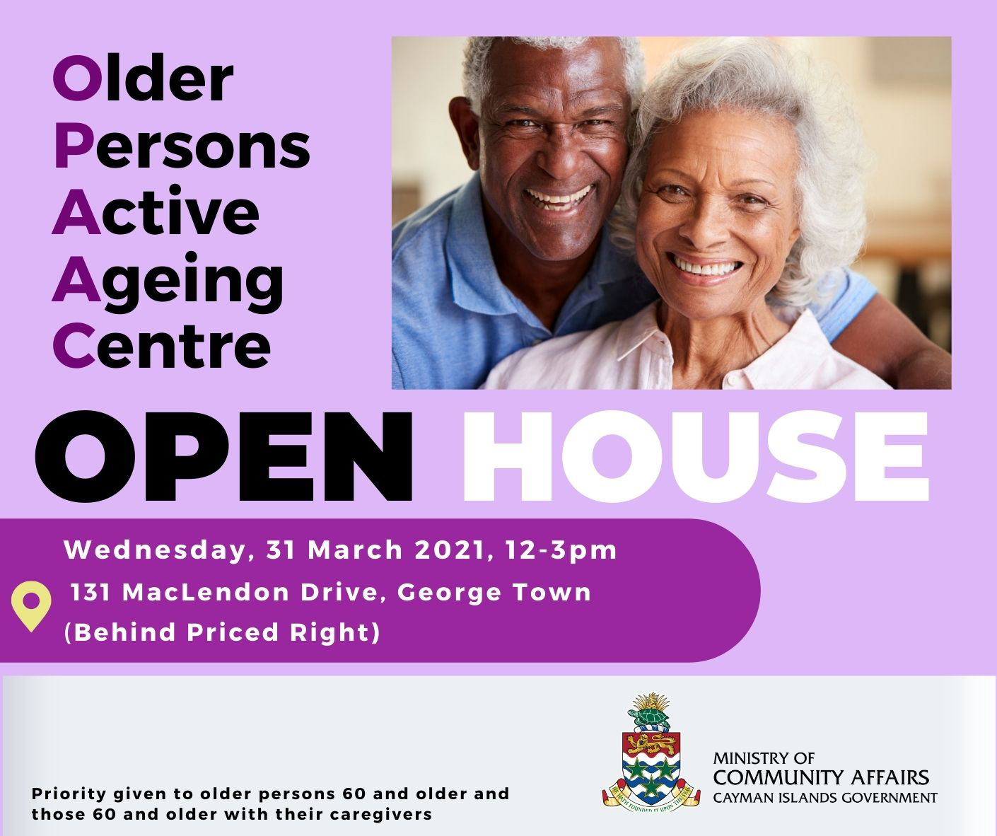 OPEN HOUSE - Older Persons Active Ageing Centre